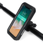 New IPX8 Underwater Waterproof Case Motorcycle Bicycle Phone Holder For iPhone XS Max