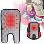 New 12V Universal Car Baby Heated Seat Cushion Cover Warmer Winter Household Heating Mat