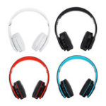 New Bluetooth 5.0 Wireless Headset Earphone Headphone Support TF Card FM Radio For Tablet Cellphone