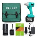 New 30000mAh Brushless Electric Wrench Li-ion Impact Wrench Wood Working Driver Wrench Tools