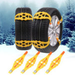 New Winter Outdoor Emergency Anti-skid Snow Tyre Chains TPU Car Tire Chain Belt