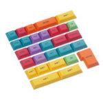 New 29PCS DSA Profile CMYK Color Dyesub PBT Keycaps Keycap Set CTRL WIN ALT SHIFT Keycap