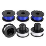 New 3pcs Blue/White 0.065 Inch Line String Trimmer For Ryobi SF-080 12V/24V/40V Mower