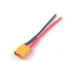 New Eachine TRASHCAN 75mm FPV Racing Drone Spare Part XT30 Plug Power Cable Wire for 2S Power Input