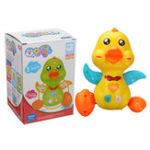 New Swing Electric Penguin Flashing LED Light Duck Children Developmental Music Toys Christmas Gift