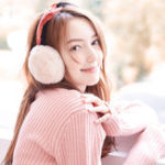 New Women Warm Soft Folding Earmuffs Windproof Cute Ear Warmer