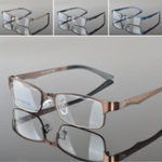 New Metal Full Rim Eyeglasses Frame Glasses Optical Rx Glasses