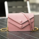 New Women Faux Leather Brief Large Capacity Crossbody Bag