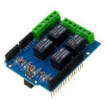 New Wemos® 5V 4CH 4 Channel Relay Shield Extended Relay Module For Arduino