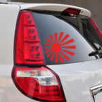 New Sun Car Stickers Vinyl Decal Auto Body Truck Tailgate Window Door Universal