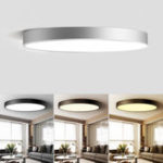 New 18W Modern Dimming Round LED Ceiling Light Surface Mount Lamp for Foyer Porch Bedroom AC220V