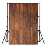New 5x7FT Vinyl Retro Wood Wall Floor Photography Backdrop Background Studio Prop