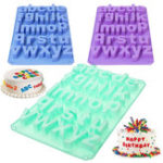 New Alphabet Silicone Mould Cake Decorating Candy Cookie Chocolate Baking Mold DIY