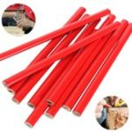 New 10pcs 175mm Carpenter Pencils for DIY Builders Joiners Woodworking Craft Stationery