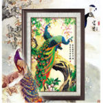 New 5D DIY Diamond Painting Embroidery Anmial Peacock Cross Stitch Decorations Landscape Diamond Mosaic Rhinestones Home Decor
