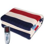 New Timing 3 Gears Control Electric Blanket Heated Mat Waterproof Luxury Flannel Comfort