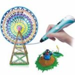 New Smart 3D Drawing Printing Pen Children DIY Painting Art Learning Educational Puzzle Toys Gift Collection