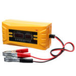 New Automatic 12V Intelligent Pulse Repair Battery Charging Display Car Battery Charger