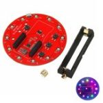 New WS2812B Ring Shield For Arduino 18650 battery charger Li-battery charger RGB LED Expansion Board
