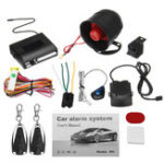 New Universal 1 Way 2 Remote Car Vehicle Protection Alarm Security System Keyless Entry Siren