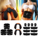 New KALAOD 15Pcs/Set Hip Trainer Abdominal Arm Muscle Training Body Shape Sports Smart Fitness ABS