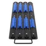 New Saws 80Pcs Socket Rail Rack Holder Organizer 1/4inch 3/8inch 1/2inch Tray Holder Stand Tool