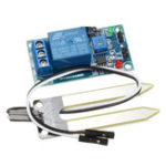 New DC 12V Relay Controller Soil Moisture Humidity Sensor Module Automatically Watering for Arduino