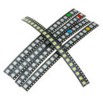 New 300Pcs 5 Colors 60 Each 5050 LED Diode Assortment SMD LED Diode Kit Green/RED/White/Blue/Yellow