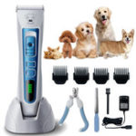 New Pet Shaver Hair Clipper Low Noise Cordless Electric Dog Cat