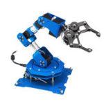 New LOBOT 6DOF Scratch Metal RC Robot Arm Programmable Stick/APP Control With Servos