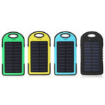 New 12000mAh Solar Power Bank Battery Fast Charger Dual USB SOS LED Light