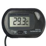 New Electronic Thermometer Fish Tank Aquarium Pet Sucker Diving Pet Box With Probe Waterproof Electronic Thermometer