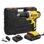 New 28V Cordless Drill Driver Rechargable Electric Drill Power Drills Driver 0.8-10mm