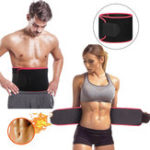 New Sauna Suit Effect Adjustable Waist Trimmer Sweat Belt