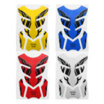 New Universal 3D Motorcycle Tank Pad Decal Protector Cover Sticker For Honda/Yamaha/Suzuki