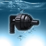 New Fish Tank Water Outlet Return Pipe Water Valve Controller Rotatable Aquarium Overflow Nozzle