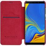 New Nillkin Leather Flip Auto Sleep Card Holder Protective Case for Samsung Galaxy A9 2018