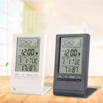 New Digital Thermometer Hygrometer Alarm Clock Calendar Temperature Records Wireless Weather Station