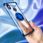 New Bakeey Magnetic Car Holder Ring Holder Thin Color Plating Soft TPU Protective Case For Xiaomi Mi A2 / Xiaomi Mi 6X