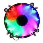 New 12V DC 3Pin CPU Cooling Fan CPU Cooler Coloful LED for Intel LGA 1150/1151/1155/1156/1366