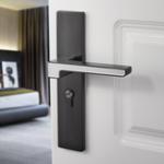 New Interior Bedroom Modern Solid Wooden Room Universal Door Lock Luminous Mute
