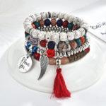 New Vintage Beaded Bracelet Set
