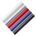 New 3D Carbon Fiber Car Sticker Vinyl Wrap Decal Sheet Roll Film DIY 127X20cm