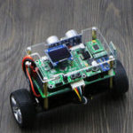 New DIY STM32 Smart RC Balance Car Bluetooth APP Control Ultrasonic Obstacle Avoidance Following Mode With OLED Screen