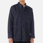 New Multi Big Pockets Single Breasted Denim Jacket Workwear