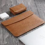 New 13.3 Inch Taikesen Leather Waterproof Sleeve Bag Laptop Bag For 13.3″ Laptop Macbook Air Macbook Pro 13.3 Inch