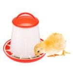 New Chicken Feeder Drinker Bottles Poultry Feed Water Waterer Automatic Drink Bird Grid