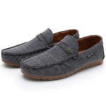 New Men Hollow Out Soft Loafers