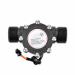 New YF-S201  Flow Meter/4 points G1/2 Interface Hall Flowmeter Water Flow Sensor
