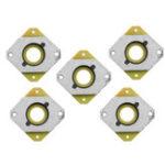 New 5Pcs 52.5*52.5*7mm 42 Stepper Motor Shock Absorber Steel Vibration Damper for 3D Printer